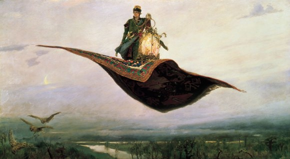 Viktor Mikhailovich Vasnetsov Flying Carpet